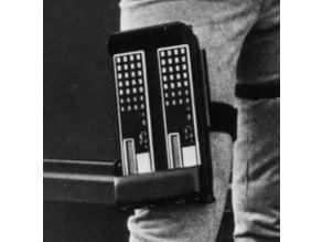 Colonial Warrior/ Viper Pilot Leg Board Computer - (BSG 1978 OS)