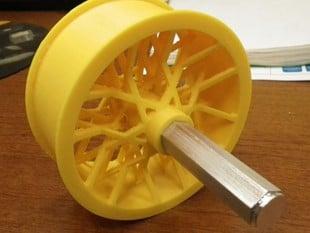Spoked wheel for FRC robot