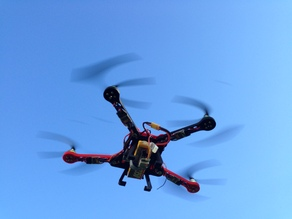 Foldable FPV Quadcopter