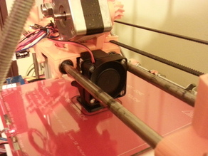 40mm fan for prusa I2 & Greg's Wade extruder