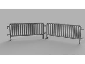 Gaslands Police barriers