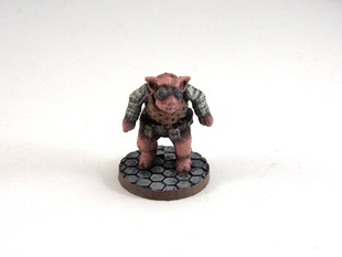 Pigdexter, 28mm Miniature