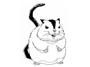 Hamsuke stencil