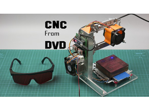 Stuff for CNC from old DVD