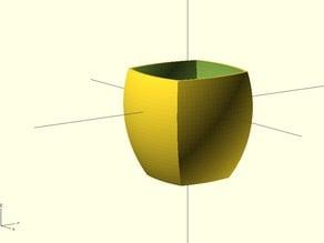 Orchid Plant Pot - Parametric