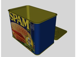 Can of Spam Coin Bank