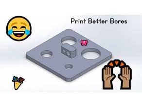 A better calibration print