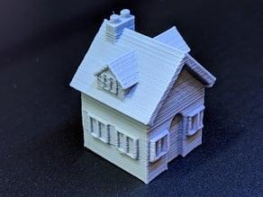 Cute House for Snow Globe