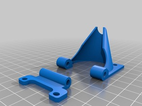 Another Reprap Cooling Fan Support