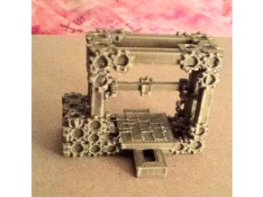 Clockwork 3D Printer Model
