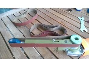 Angle Grinder (belt sander attachment)