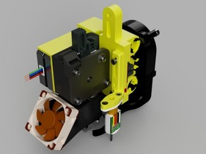 E3D-V6 / Titan extruder / BL Touch mount for HyperCube Evolution