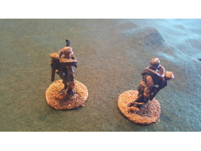 28mm Panzerfausts and carrier for Bolt Action