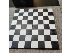 30mm Folding Travel Chess Board