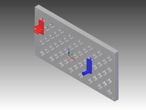 Modular tool wall