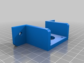 Y-Stepper mount with curved corners