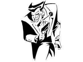 The Joker stencil 2