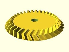 Parametrisches Pfeil-Kegelrad / Parametric Herringbone Bevel Gear