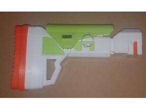 Nerf Adjustable Battery Stock
