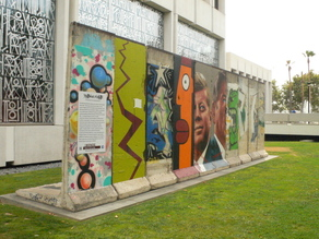 10 Berlin Wall Segments  - The Wall Project