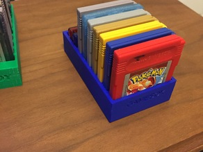 Gameboy cart holder