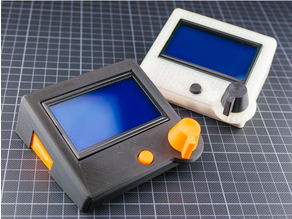 reprap smart controller lcd case mounting system