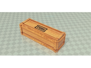 PUBG wood crates