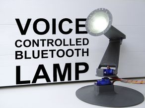 Bluetooth Voice Controlled Moving Lamp