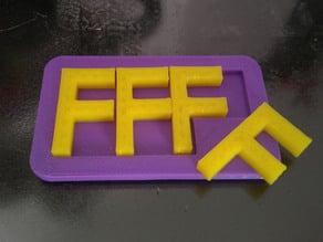 F -  Puzzle