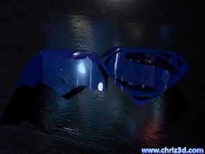 Batman vs Superman logo - choose your side