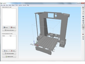 Anet A6 bed model for Simplify3D