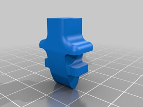 Filament Guide for Wade's Extruder