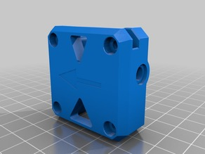 Bondtech - Improved extruder lid with support for dual bowden fittings