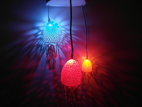Voronoi Jellyfishes - Lighted Decoration