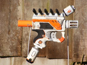 District 9 inspired NERF pistol