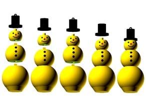 Customizable Modular Snowman