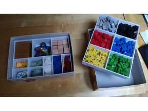 Carcassonne Accessory Organizer for Expansion Box