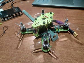 X-132: The Ultimate Sub 250g 2-3 Inch Brushless Micro Drone Frame Kit