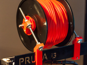 Prusa i3 Spool Mount for 3mm Frame