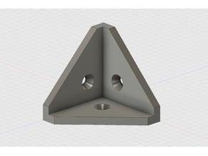 Internal Corner Bracket (counter sunk holes)