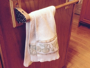 Celtic towel rack holder