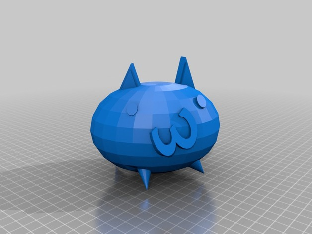 Basic cat (Battle Cats) by duel_games - Thingiverse