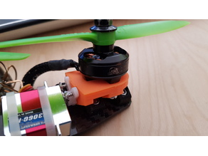 Yaw motor Mount 19mm for leviathan