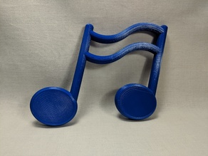 Large Music Notes
