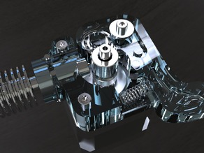 DD Direct Drive 3D printer extruder 3mm filament