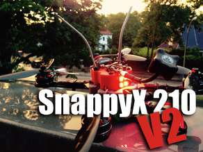 SnappyX 210 V2 X-Frame for ZMR 250 Arms