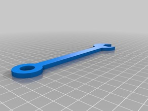Wrench Designed with Tinkercad's Codeblocks