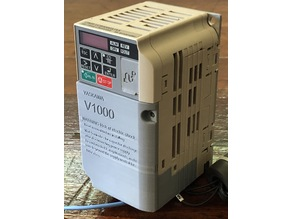 Yaskawa variable frequency drive front cover for models BA0002 & BA0003
