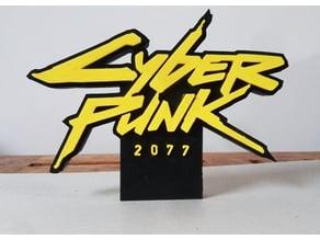 Cyberpunk 2077 logo ( clipsable )