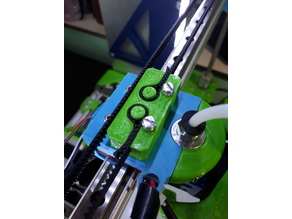 X Belt Holder for mgn 12 mod of Anet AM8 / A8
